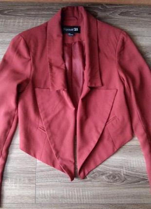 Интересный пиджак forever 21