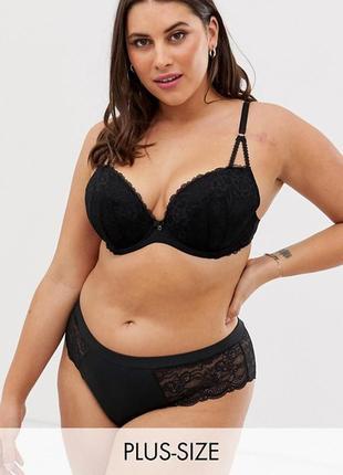 Кружевной черный бюст 38g(85) на пышную красоту ann summers