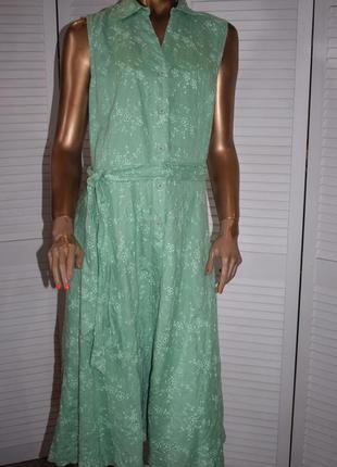 Льняное платье essentiel