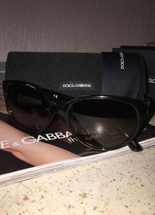 Очки dolce&gabbana солнцезащитные оригинал модель  dg-4171-p - 502/13