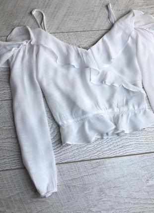 Блуза з відкритими плечима2 фото