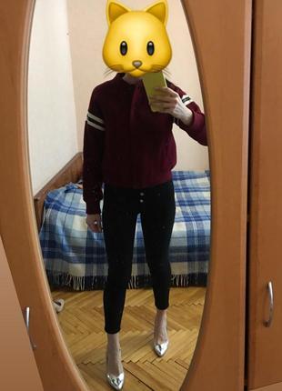 Бомбер куртка bershka