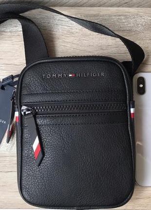 Мужская маленькая оригинальная сумка tommy hilfiger