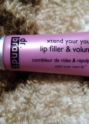 Dr. brant бальзам для губ (уход+обьем+филлер) новый тестер