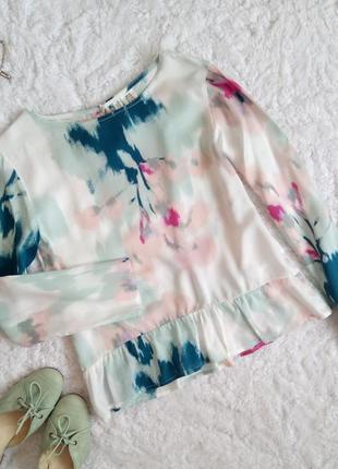 Блуза для девочки подростка 11-12 лет