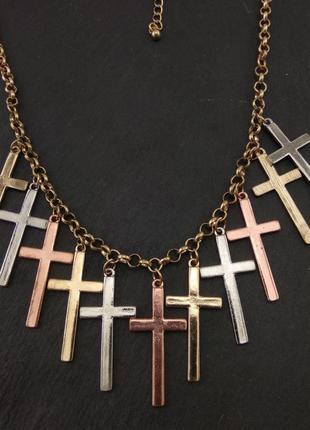 Колье кресты от тм сорока.ми