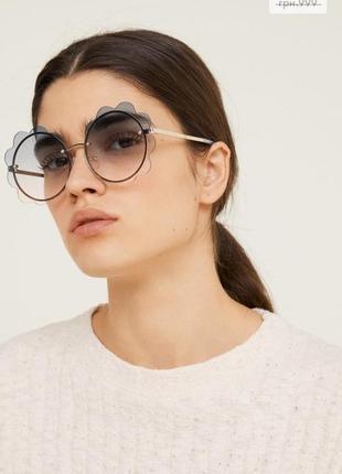 Солнцезащитные очки цветочек от mango