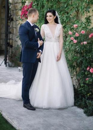 Свадебное платье eva lendel tiana
