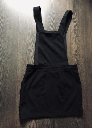 Идеальный чёрный сарафан комбинезон3 фото