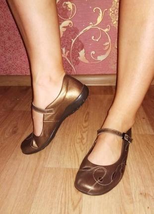 Remonte лоферы туфли натуральная кожа германия