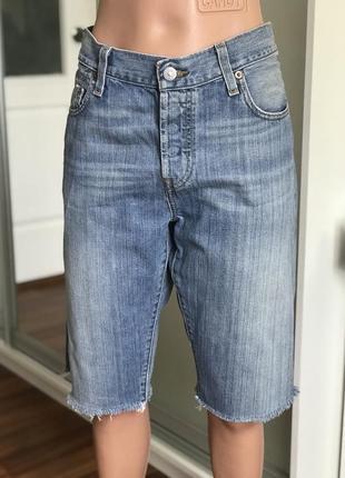 Продам оригинал женский джинсовые30w 32l шорты левайс левис levis