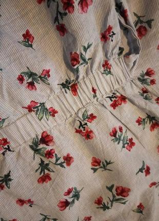 Брендовая блузка хлопок zara5 фото
