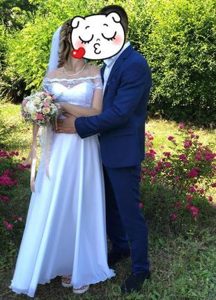 Свадебное платье под животик