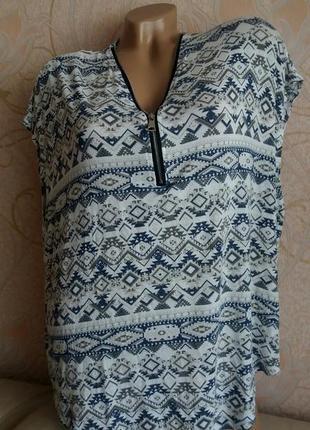 Натуральная майка, блуза разлетайка, пляжная накидка, туника цельнокроенная на жару!