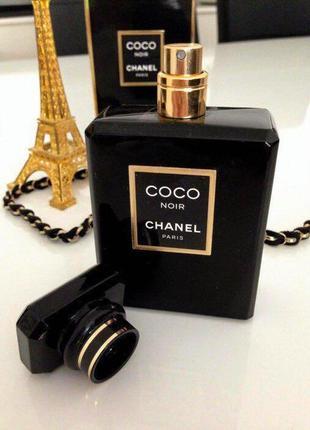 Chanel coco noir_original_eau de parfum 10 мл затест_парфюм.вода