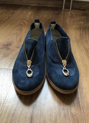 Туфли синие, ari andano 37p.