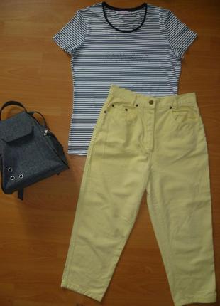 Бриджи, джинсовые бриджи, брюки джинсовые летние divina