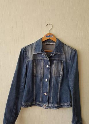Джинсовая куртка max mara