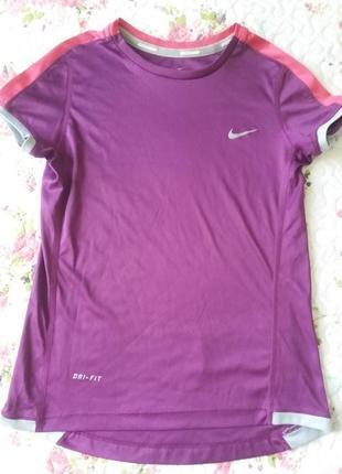 Детская спортивная футболка nike на 6-8 лет