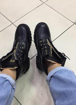 Шикарные ботинки paris balmain