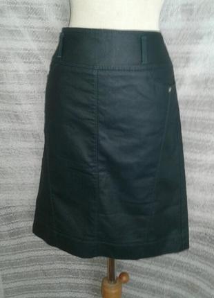 Зелёная шелестящая юбка ,м-l.4 фото