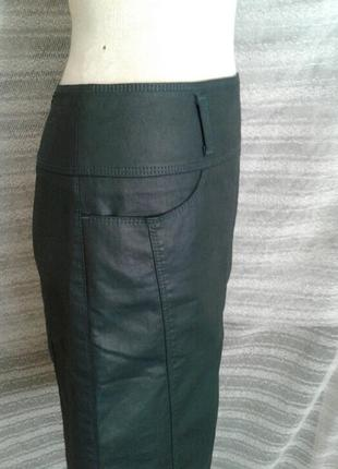 Зелёная шелестящая юбка ,м-l.5 фото