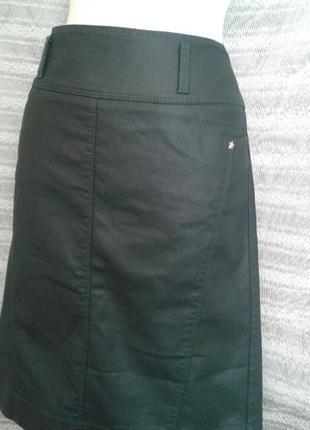 Зелёная шелестящая юбка ,м-l.6 фото
