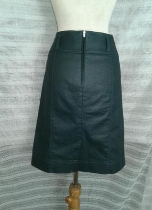 Зелёная шелестящая юбка ,м-l.7 фото