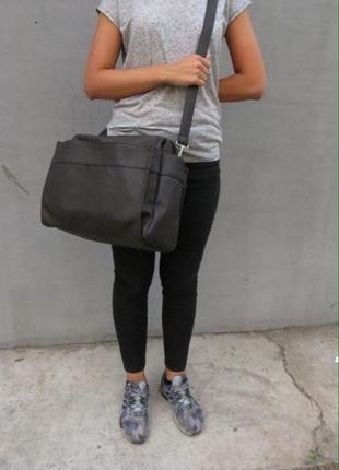 Большая сумка с длиной ручкой3 фото