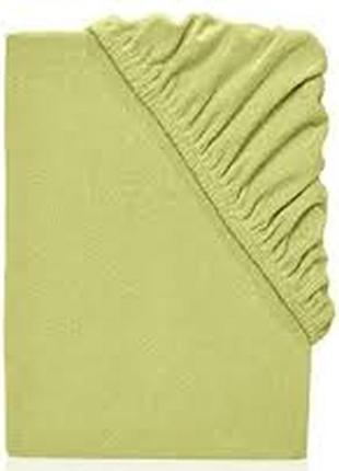 Простынь махровая на резинке dormia германия, 90-100х200 см