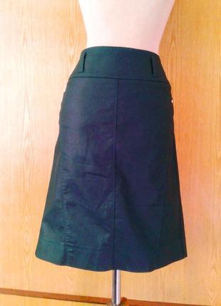 Зелёная шелестящая юбка ,м-l.8 фото