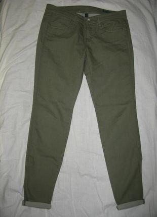 Легкие джинсы benetton, размер 29, новые без бирки