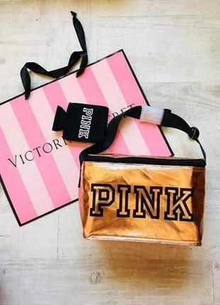 Термо сумка, сумка холодильник, косметичка pink от victoria's secret