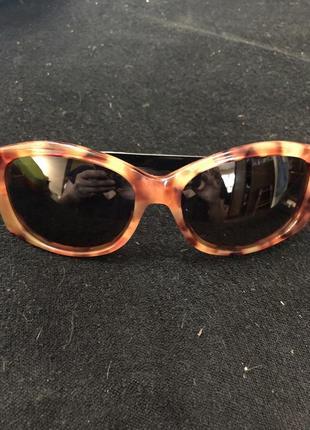 Очки солнцезащитные max mara  черепаховый принт