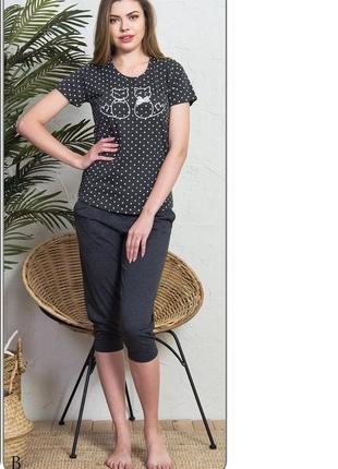 47976a983f630 Пижама женская с капри vienetta secret, цена - 340 грн, #24593191 ...