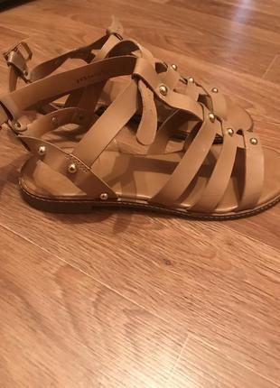 Кожаные сандалии respect