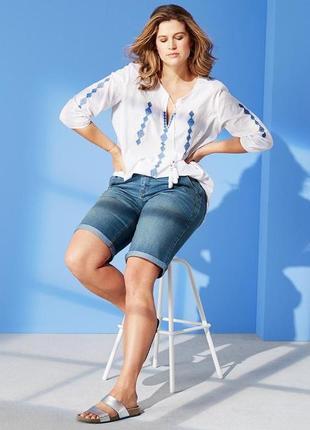 Качественные джинсовые шорты от тсм tchibo(германия)