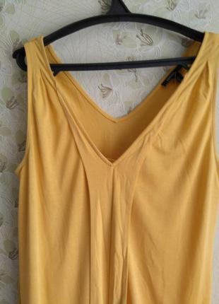 Летний желтый сарафан3 фото
