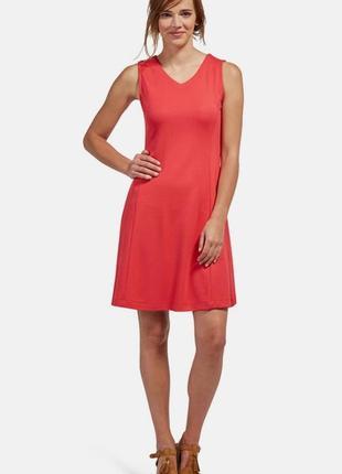 Оригинальное трикотажное платье tom tailor размер м