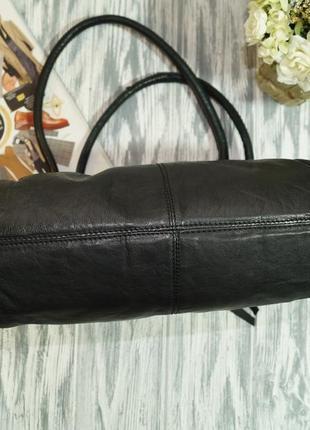 Clarks. кожа. качественная сумка на 3 отделения2 фото