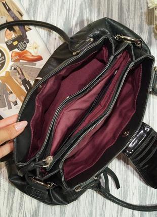 Clarks. кожа. качественная сумка на 3 отделения3 фото
