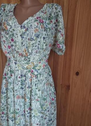 Только сегодня!!!! новое летнее воздушное  платье из вискозы от