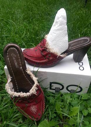 Туфли-шлёпанцы1 фото