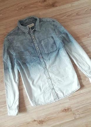 Легка джинсова сорочка