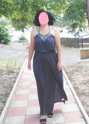 Шикарное летнее платье в пол от английского бренда warehouse, р.50-52
