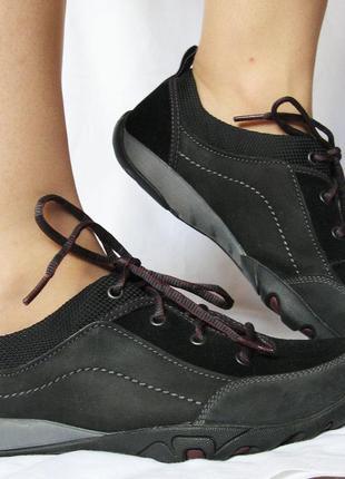 877. кроссовки merrell кожа-нубук 38 р. идеальные