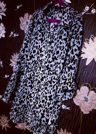 Шикарная/итальянская/шифоновая блузка/блузон в классическом стиле galano butterfly.