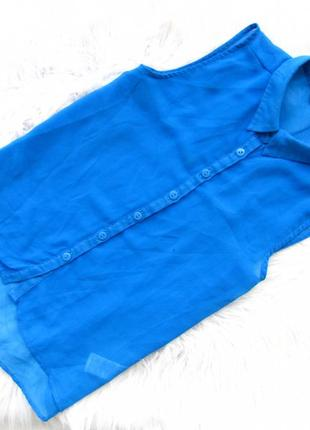 Стильная рубашка блузка с коротким рукавом new look