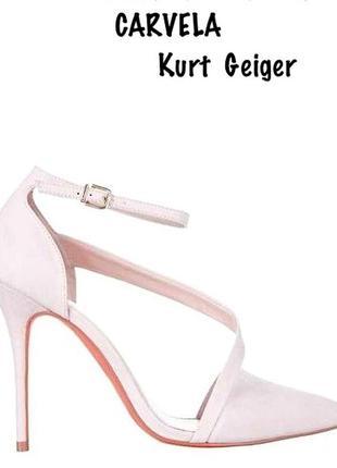 Carvella of kurt geiger изящные туфли от отличного бренда.модель 2018 - 19гразмер 37-37,5