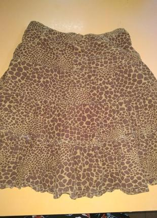 Модная вельветовая юбка children's place